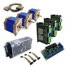3-Axis 180 Oz In Stepper Motor Driver Kit