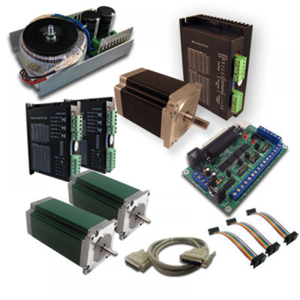 Probotix x3 cnc conversion stepper motor driver kit for Stepper motor kits cnc