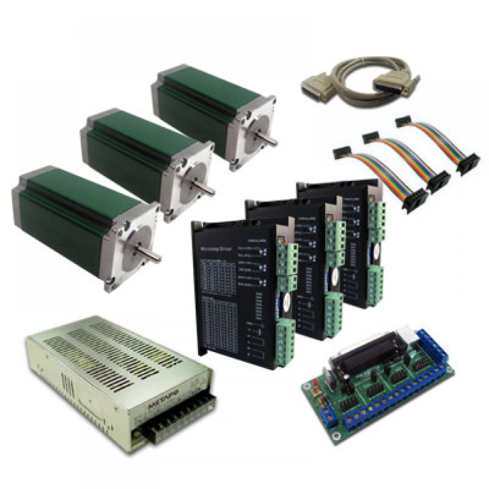 probotix 3 axis monster stepper motor driver kit