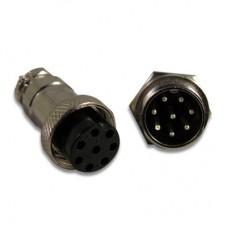 8-PIN GX16 Connector Set