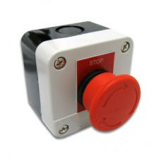 1.5in Latching E-Stop Switch w/ Enclosure