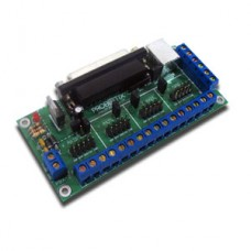 PBX-2 CNC Parallel Port Breakout Board