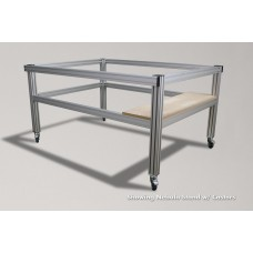 Aluminum Machine Stand w/ Shelf for GX3750 Nebula