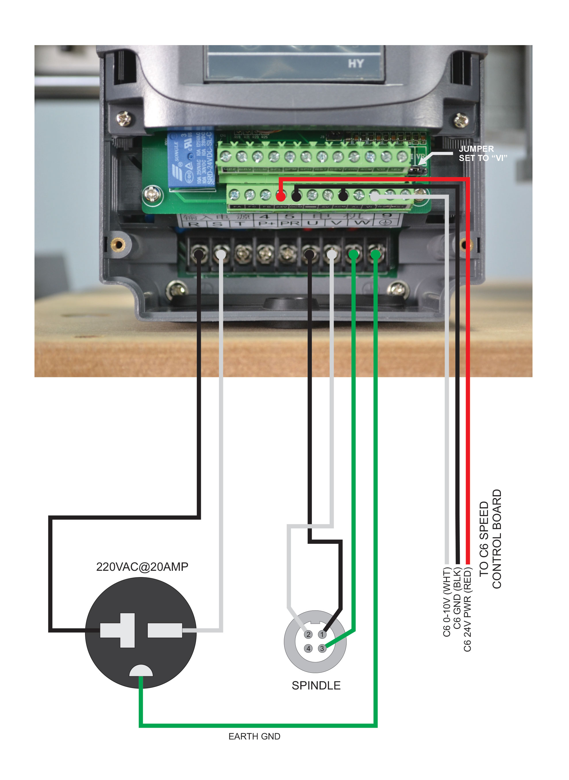 Vfd Wiring And Config Page 3 Routakit Forum Control Machine Motor Re