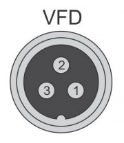3-pin VFD Connector